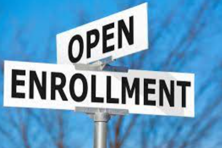 Open Enrollment Applications Accepted During the Month of May