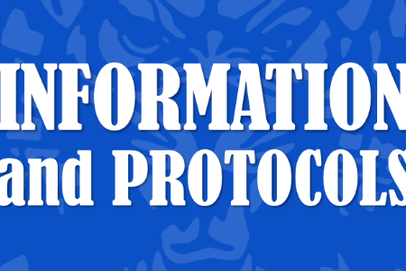 Information and Protocols for 2020-2021