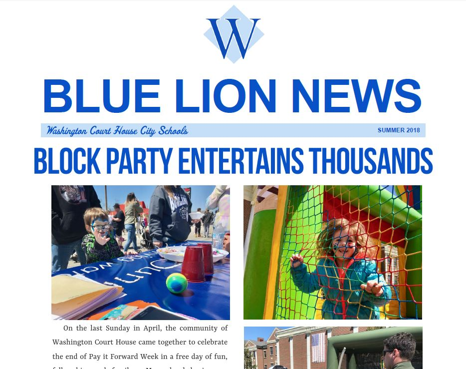 Blue Lion News