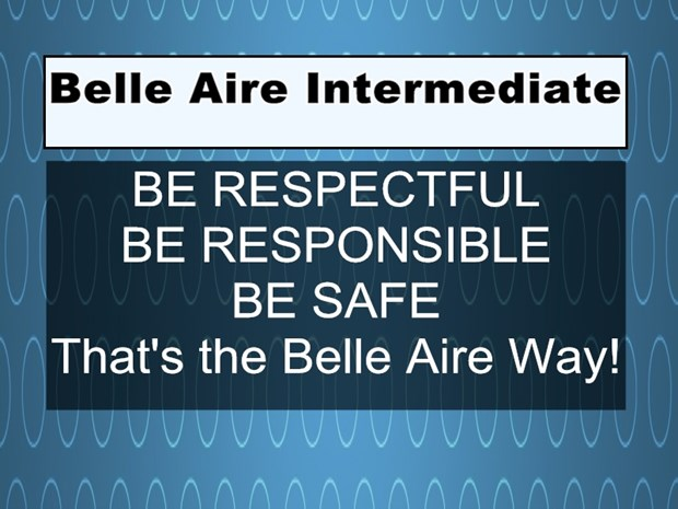 Motto for Belle Aire Intermediate image