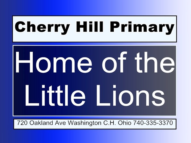 Cherry Hill Primary Home of the Little Lions