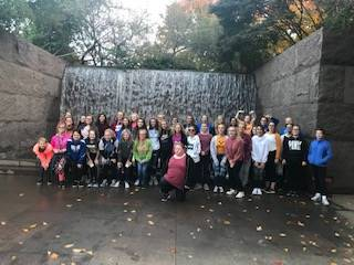 8th Grade DC Trip 2018