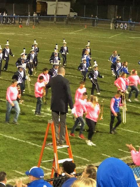 WMS 8th Grade/Marching Band Night